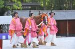 前田泰さん式典馬と従者DSC_2049.jpg